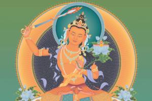 Manjushri Wisdom Buddha 1920x1280