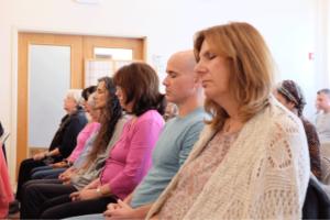 Meditators at the Silent Retreat Oct 2017