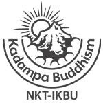 New Kadampa Tradition White Logo